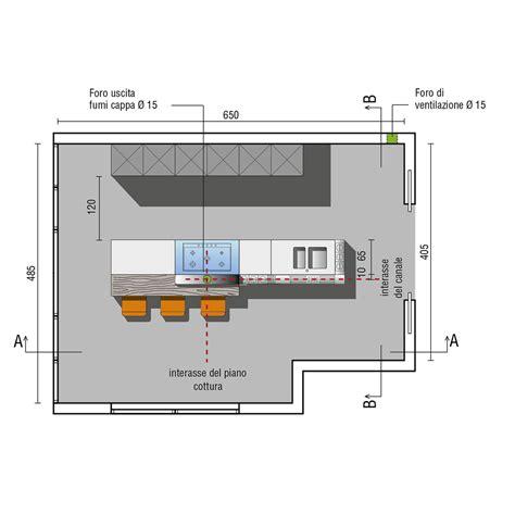 cucina isola misure cucine con isola design valcucine
