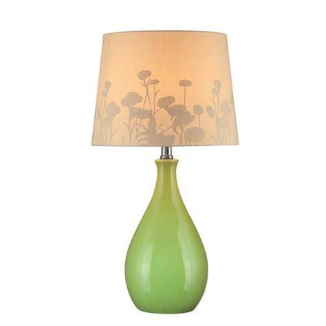 mini style table ls edaline green ceramic table l lite source accent l