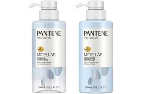 Harga Pantene Conditioner Pro V sho dengan micellar water untuk kulit kepala sensitif