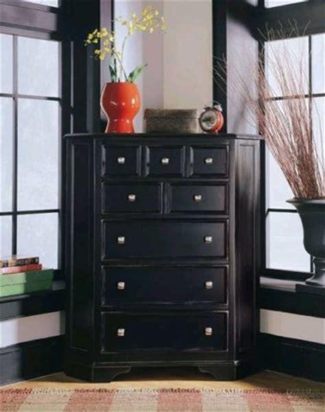 Black Corner Dresser american drew 919 230 corner chest camden black traditional accent chests and cabinets