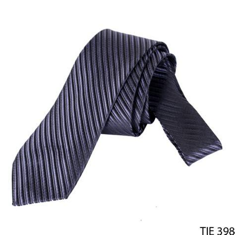 Dasi Formal Pria Motif Garis dasi pria formal bermotif salur satin biru dongker tie 398 gudang fashion