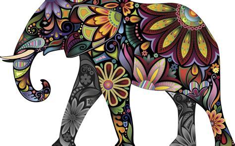 abstract elephant wallpaper hd colorful abstract elephant full hd duvarkağıdı and arka