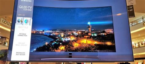 review samsung qled qc  hdr tv samsungs curvy