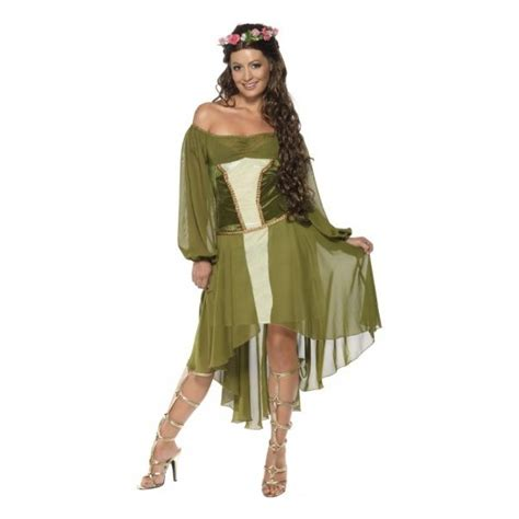 disfraz de la cotorrita disfraz de diosa de la naturaleza verde comprar online