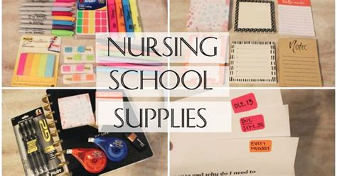 Nursing School Necessities - nursing school supplies essentials my favorite items to