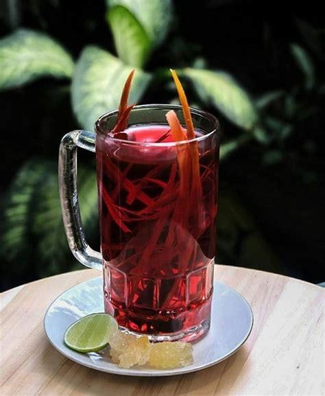 minuman tradisional  populer  musim hujan enak
