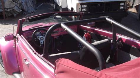 vw custom convert  stroker eng  wheel discs roll cage fast fun classic
