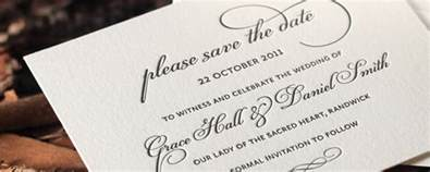 save the date exles save the date cards exles from our wedding collection