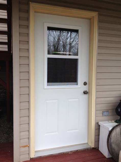 Steel Door Installation by Mastercraft Steel Door Installation Edgerton Ohio