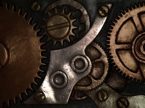 Cool Digital Wall Clocks steampunk gears 2 by goo goo gajoob on deviantart
