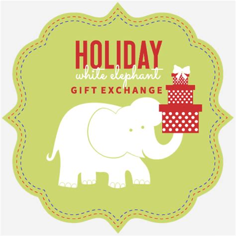 white elephant grabbag party grab bag gift ideas white elephant gift exchanges stuffers gift