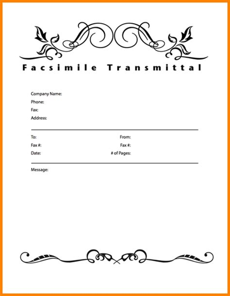 19 printable fax cover letter employee declaration form
