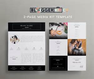 electronic press kit template two page media kit template press kit template
