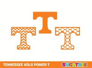 Tennessee Vols Home Decor Tennessee Volunteers Power T Chevron Svg Dxf Vector Art By