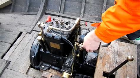 boat engine not starting olympia 2f marine engine starting youtube