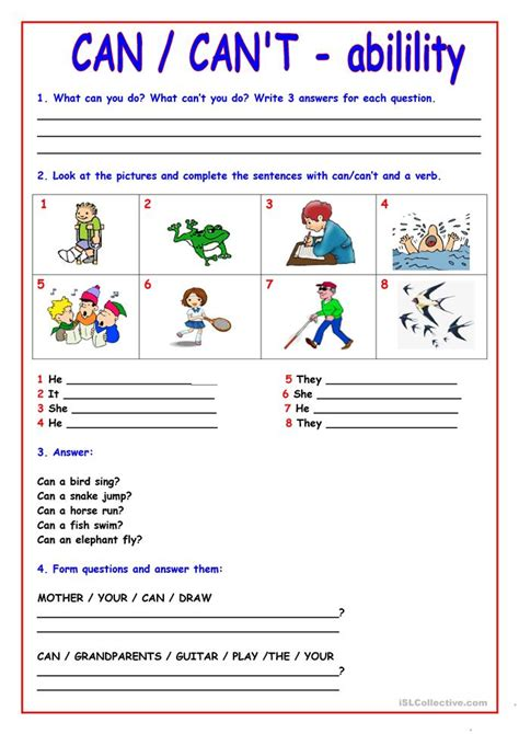 when can t read what teachers can do a guide for teachers 6 12 can can t worksheet free esl printable worksheets made