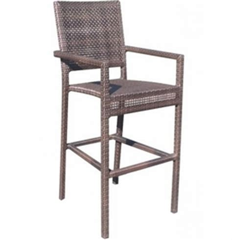 wicker bar stools with arms whitecraft by woodard miami wicker miami counter stool