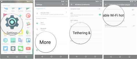 how to set up hotspot on android how to set up a wi fi hotspot on an android phone android central