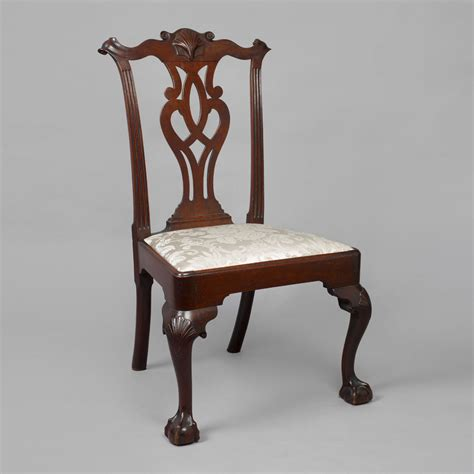 stuhl chippendale chippendale carved side chair jeffrey tillou antiques