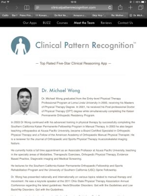 evidence pattern recognition clinical pattern recognition hip and thigh pain physical