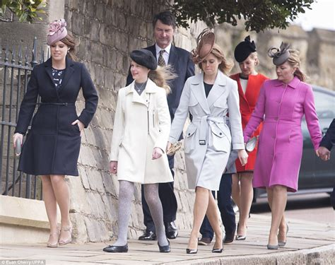 the royal family the british royal family attend easter sunday service at