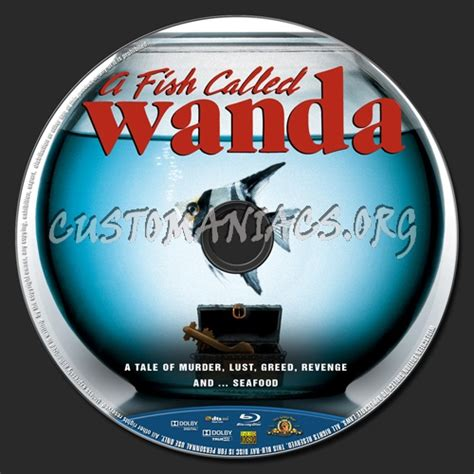 A Fish Called Wanda Bluray a fish called wanda label dvd covers labels by