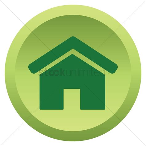home button vector image 1337639 stockunlimited