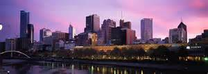 Wall Murals Black And White wallpaper of melbourne s skyline