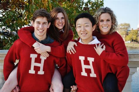 Number Of Harvard Mba Student by The Harvard H Sweater Modeled By Harvard Students Dallas