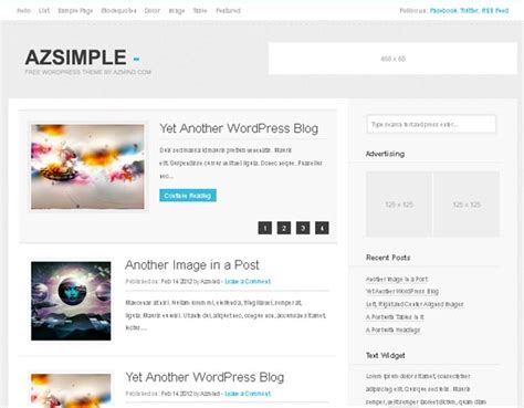 15 free wordpress themes for blogs 2013