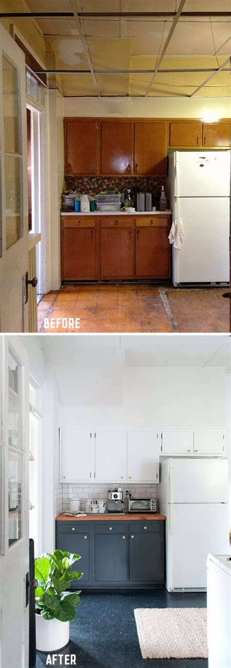 how to make old kitchen cabinets look new genius kitchen makeover ideas that would save you money