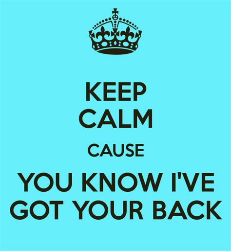 How I Got My Back by I Got You Back Quotes Quotesgram