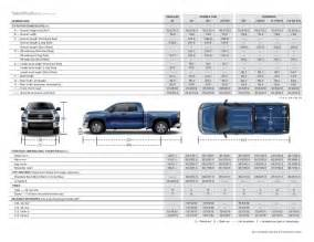 Toyota Tundra Bed Dimensions 2015 Toyota Tundra Brochure Vehicle Details