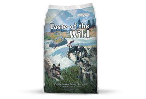 taste of the puppy formula taste of the pacific puppy formula grain free food woodard