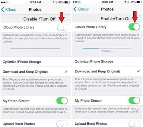 Find On By Photo How To Turn On Icloud Photo Library On Iphone Ios 11 Ios 10