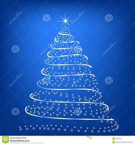 stilisierter weihnachtsbaum stilisiert weihnachtsbaum vektor abbildung illustration