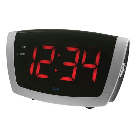 Digital Alarm Clock maxiaids digital alarm clock with 1 8 inch jumbo led