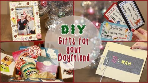 Handmade Boyfriend Gift Ideas - birthday ideas for boyfriend image inspiration