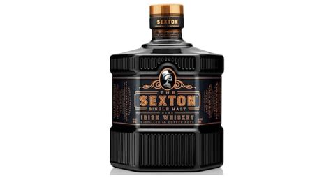 sexton whisky sexton irish whiskey arrives in us in some cool black