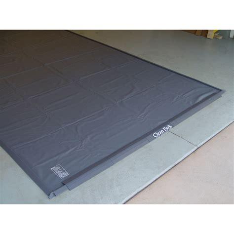 clean park 7 5 x 22 heavy duty garage mat