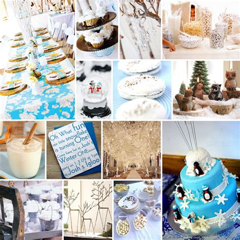 party themes for the winter cake creative co party inspiration board winter wonderland