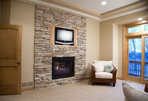 Faux Fieldstone Fireplace by How To Your Home S Exterior Without Being