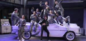 Grease Live Grease Lightning Car Change Sing Along With Greaselive Song Lyrics New York Theater