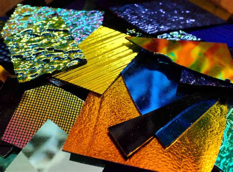 olympic color rods dichroic glass olympic color rods
