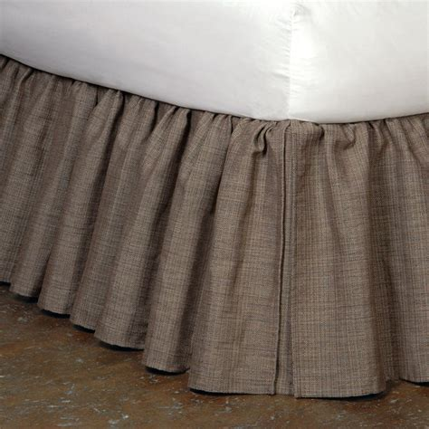 king bed skirt mica bed skirt cal king contemporary bedskirts by