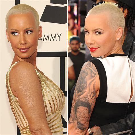 amber rose leg tattoo makeup to cover a popsugar