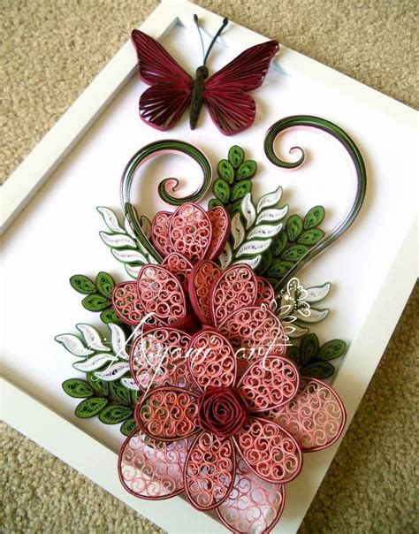 tutorial tablouri quilling 17 best images about beautiful quilling on pinterest