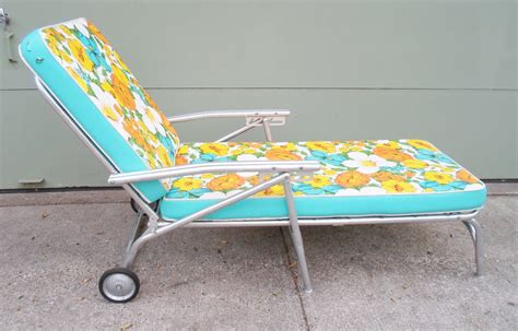 vintage chaise lounge chair vintage mid century chaise lounge chair for the patio garden