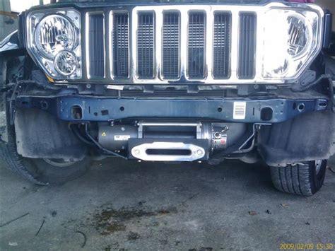 Jeep Liberty Winch Bumper Lost Jeeps View Topic Detours Backbone Bumper Winch