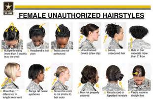 haircut army regulations after outcry hagel orders review of female hairstyle